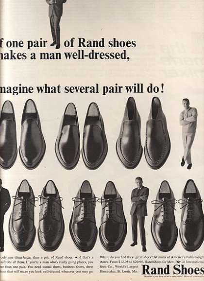 Rand's Shoes for the Well-Dressed Man (1964)