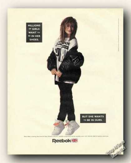 Paula Abdul Photo Dance Reebok Collection (1989)