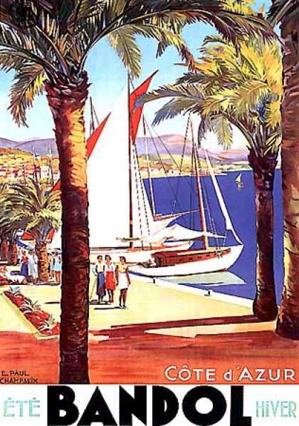 Bandol by E. Paul Champseix (1930)