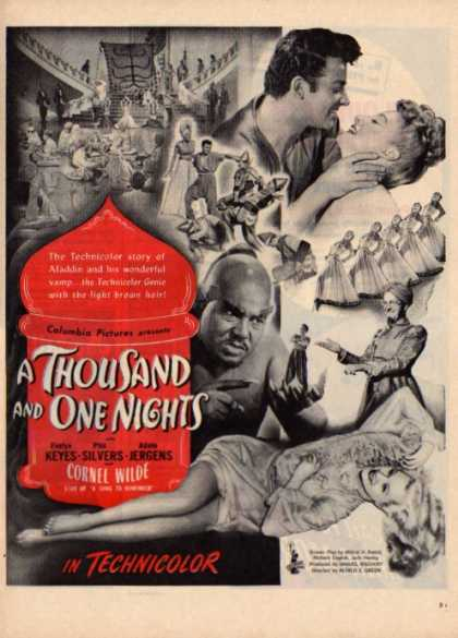 A Thousand and One Nights Movie Aladdin (1945)