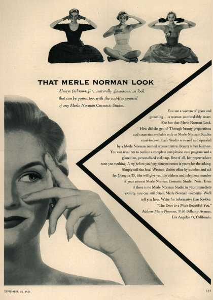 Merle Norman's Various – That Merle Norman Look (1954)