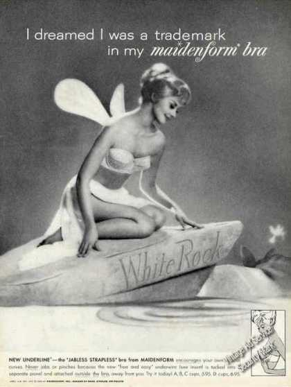 I Dreamed I Was Trademark In My Maidenform Bra (1962)