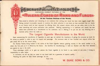 W. Duke Sons & Co. – The Rulers, Flags, Coats of Arms – Image 2 (1888)