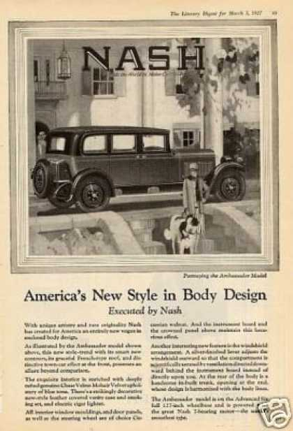Nash Ambassador Car (1927)