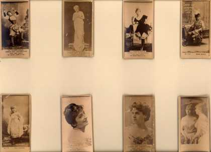 W. Duke Sons & Co.'s Cross-Cut Cigarettes – Actors/Actresses – Image 3