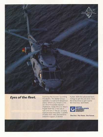 Sikorsky Seahawk Helicopter Photo (1986)