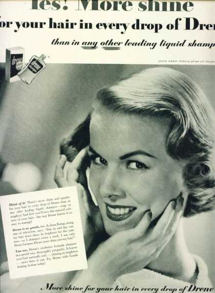 Drene Shampoo Joan Kemp Tv Star C (1953)