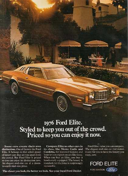 Car Advertisements of the 1970s