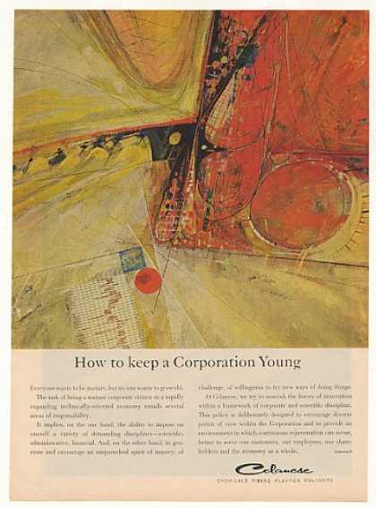 Keep Corporation Young Celanese Chemical art (1963)