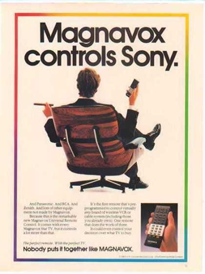 Magnavox – Early Universal Remote (1986)