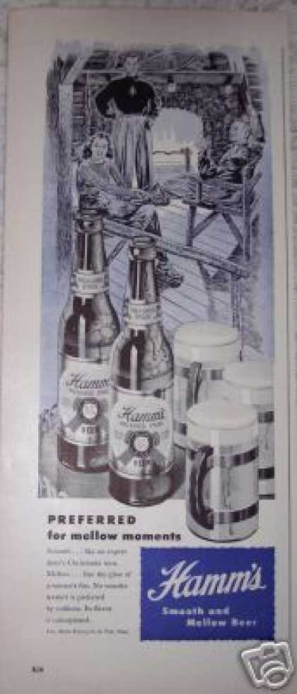 Hamm's Beer Preferred Stock (1948)