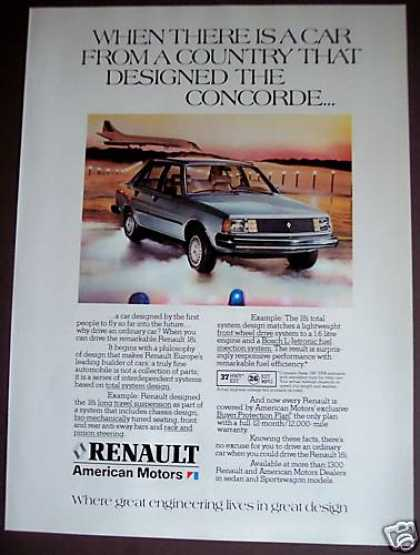 Renault 18i Original Car (1981)