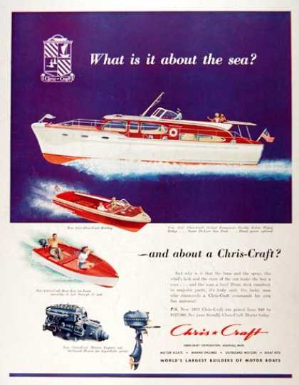 Chris Craft 52 ft. Conqueror (1953)