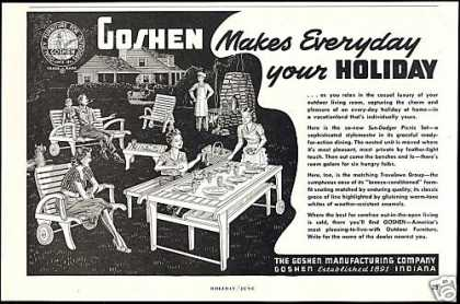 Goshen American Outdoor Furniture (1951)