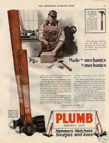Plumb Hammer Color (1920)