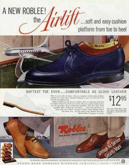 Roblee Airlift Mens Shoes Fashion (1953)