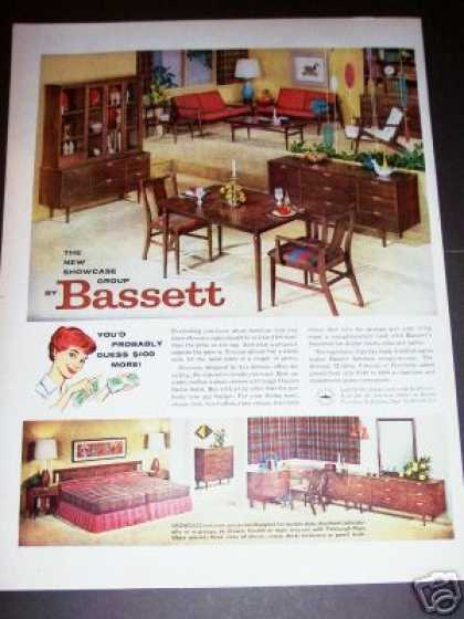 Vintage furniture ads of the 1950s page 5 - Bassett bedroom furniture 1970 s ...