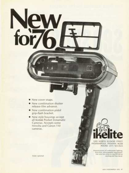 Ikelite Underwater Housing (1976)