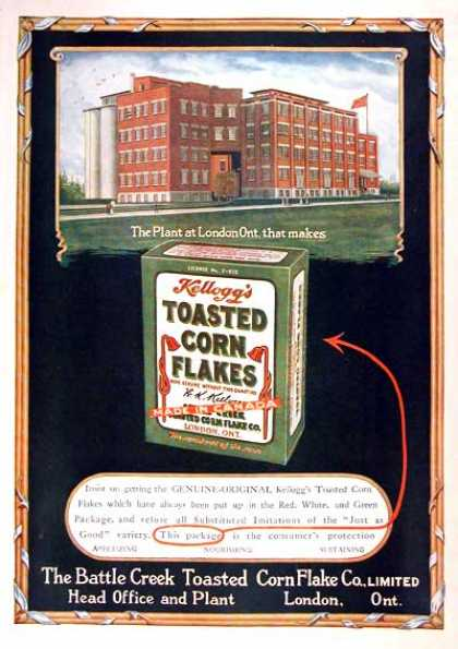 Kellogg&#8217;s Corn Flakes (1919)