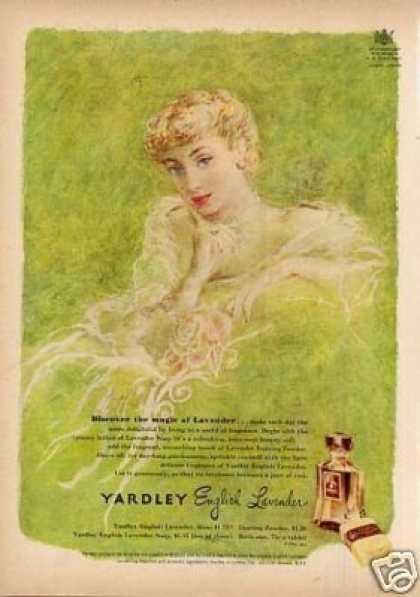 Yardley English Lavender Fragrance (1950)