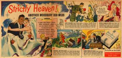 Woodbury's Facial Soap – Strictly Heaven! Another Woodbury Deb Weds (1947)