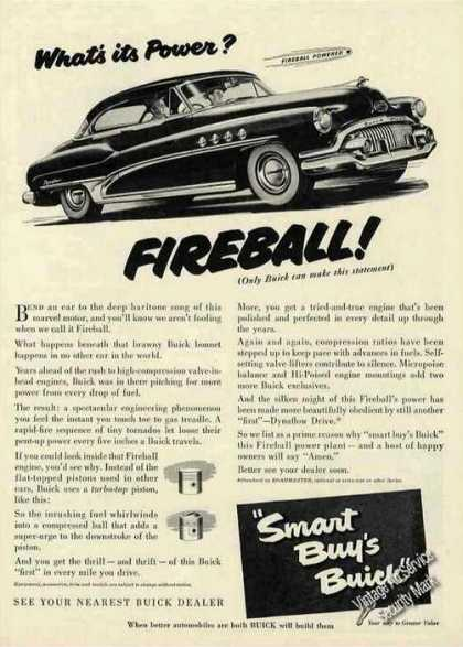 Buick Fireball Powered Collectible Car (1951)