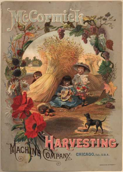 McCormick Harvesting Machine Co.'s McCormick Machines – McCormick Harvesting Machine Company (1885)