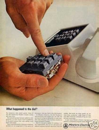"Western Electric Ad ""What Happend To... (1964)"