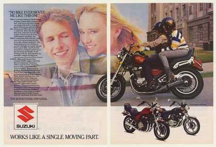 Suzuki GS450L and GS550L Motorcycle (1985)
