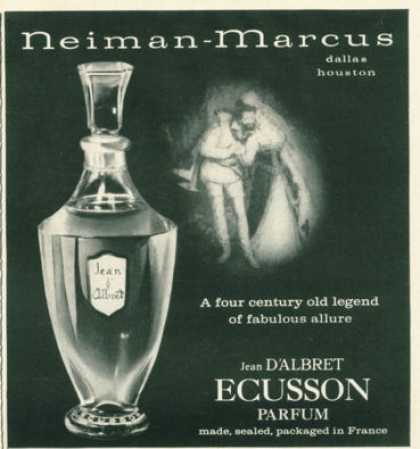 Jean D'albret Ecusson Parfum Bottle (1959)