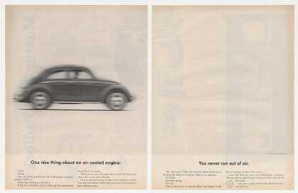 VW Volkswagen Beetle Bug Air-Cooled Engine (1962)
