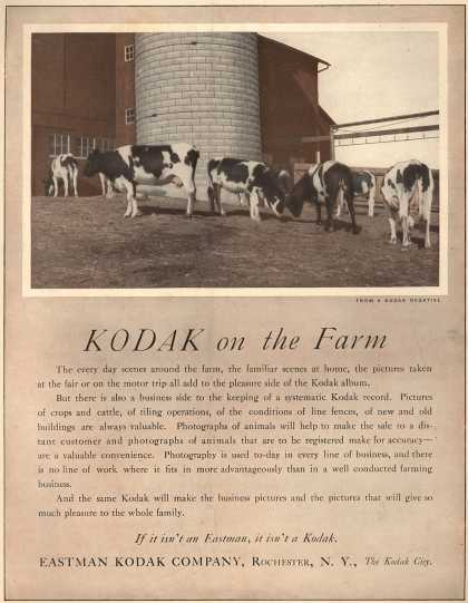 Kodak – Kodak on the Farm (1917)