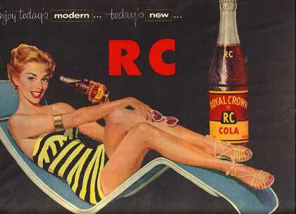 Royal Crown Cola's RC Cola (1955)