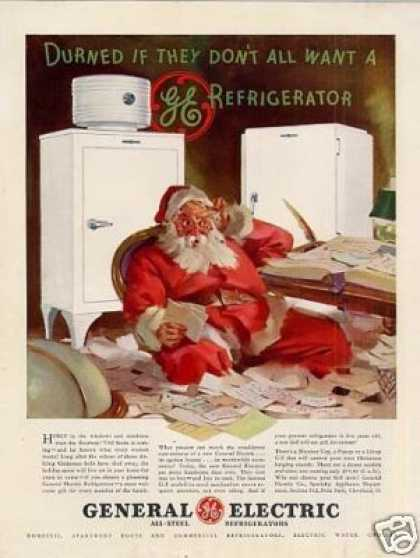 General Electric Refrigerator (1935)