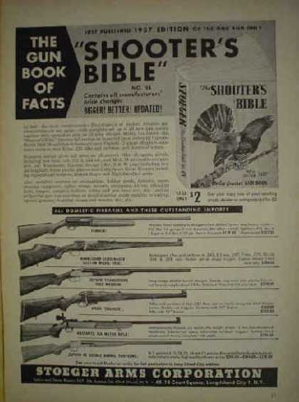 Stoeger Arms Shooters Bible AND National Rifle Association (1956)