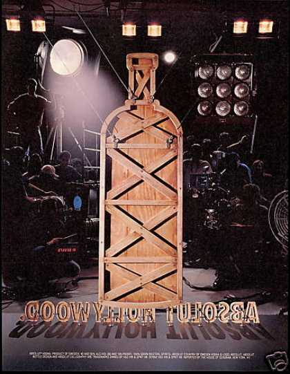 Absolut Hollywood Vodka Production Stage (1994)