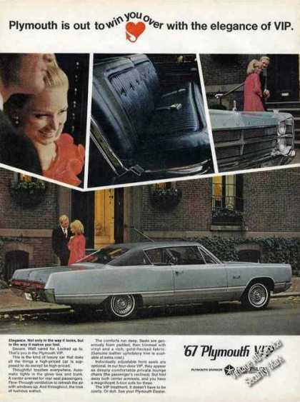 Plymouth Vip Collectible Car (1967)