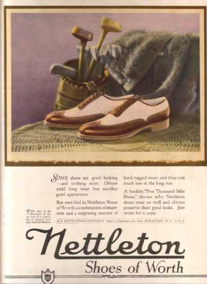 Nettleton's practical sports shoes (1921)