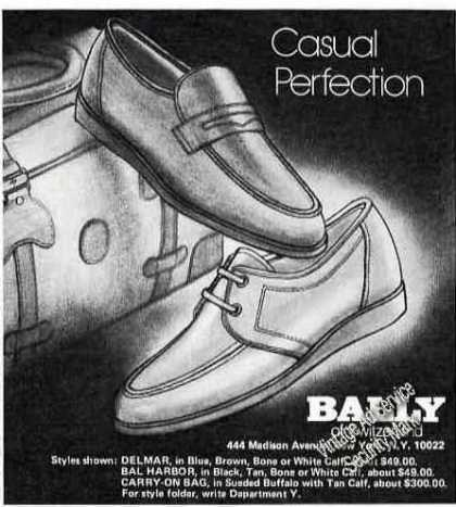 Casual Perfection Bally of Switzerland Shoe (1978)