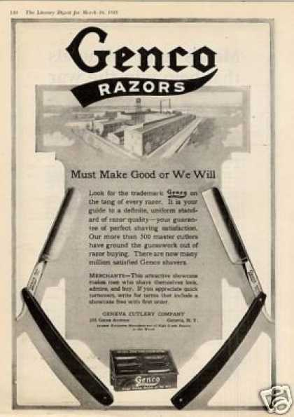Genco Razor (1918)
