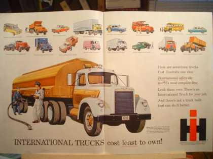 2pg International Trucks Least to own (1958)