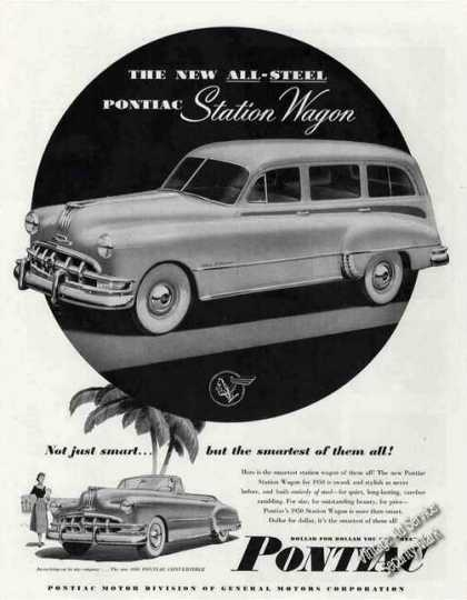 Pontiac All-steel Station Wagon & Convertible (1950)