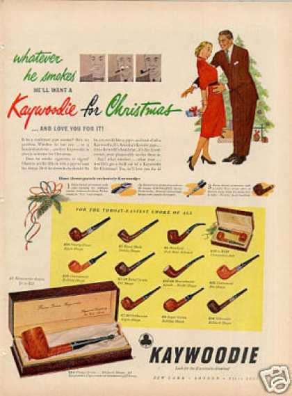 Kaywoodie Pipes (1951)