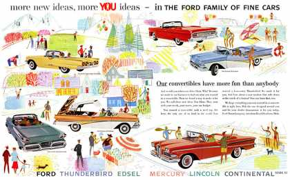 Ford Family of Fine Cars #2 (1958)