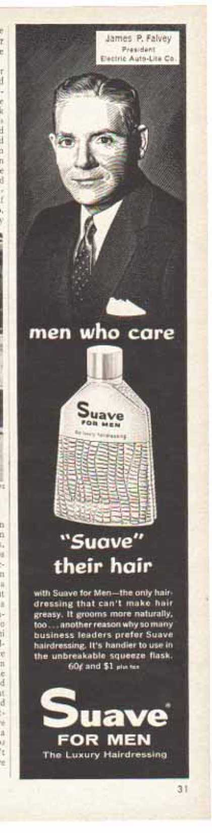 Suave – James P. Falvey of Electric Auto Lite (1958)