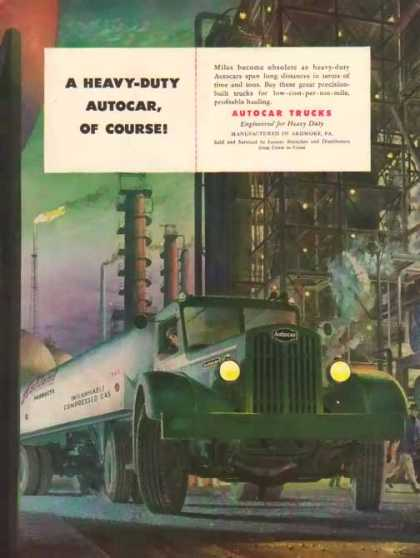 Autocar Trucks – Ashland Products – Sold (1947)