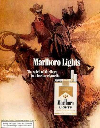 Marlboro Light – Bob Peak (1972)