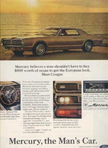 Ford's Mercury Cougar (1966)