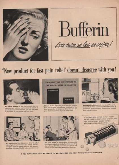 Bufferin Antacid Pain Relief (1949)