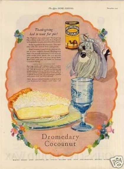 Dromedary Cocoanut Color (1925)
